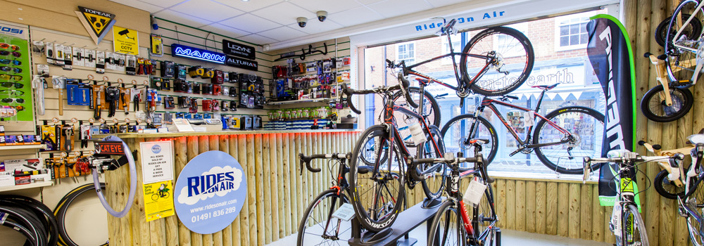 Massive selection of bikes, components and accessories